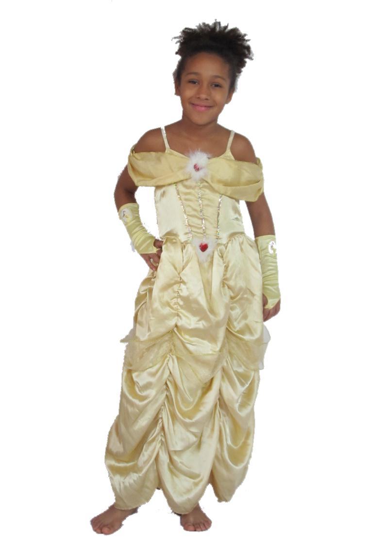 Belle hercegnő jelmez – Szépség és a szörnyeteg Disney 54aac0547e
