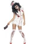 Zombi ápolónő jelmez