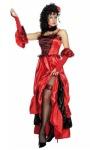 Burlesque, Moulin Rouge, táncos nő jelmez