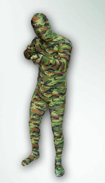0d170d3cd3e3 terepmintás, katonai morphsuit jelmez | Jelmezbérlés